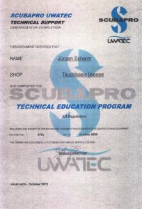 ZertifikatScubapro