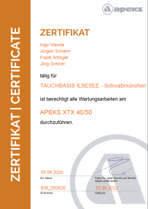 ZertifikatXTX4050